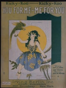 You For Me - Me For You, 1922.