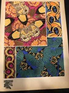 Eugene Seguy, Pochoir, Butterflies pattern plate 18. Paris, 1926.
