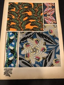 Pattern by E.A. Seguy's Papillons